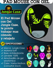 Mouse Pad Jungle Case con Gel