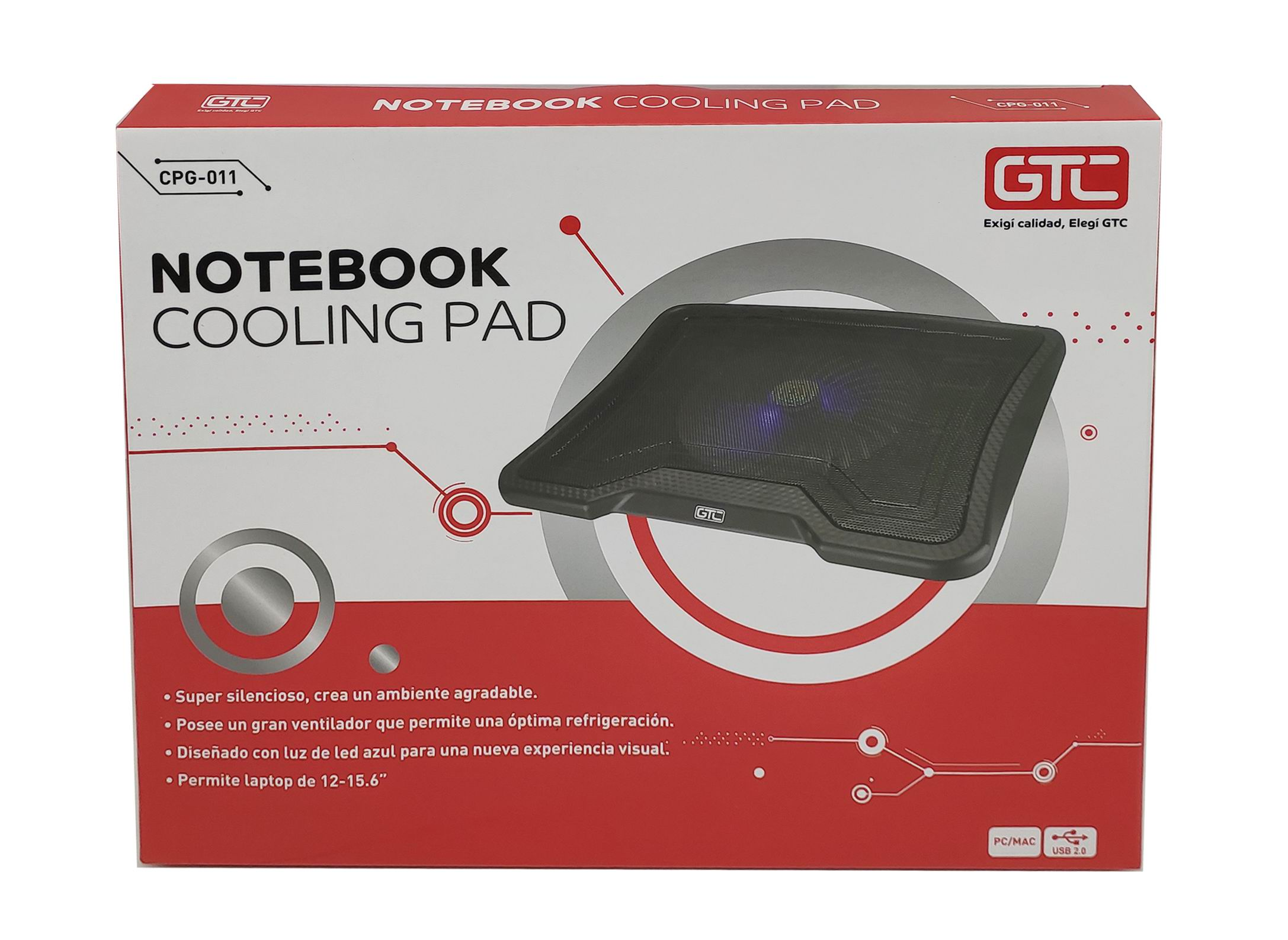 Cooler GTC CPG-010 P/Notebook