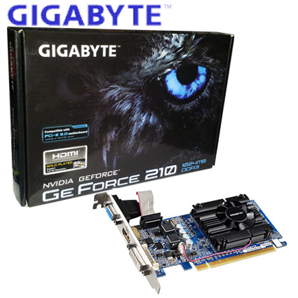 Placa de Video Asus Geforce 210 PCI-E DDR3 1GB
